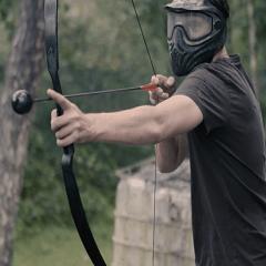 Hunger Games bedrijfsuitje