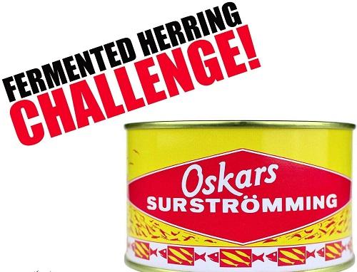 Suströmming challenge